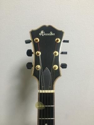 ギターのヘッド 1回目